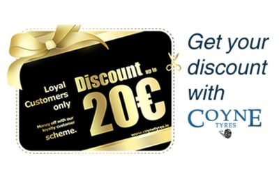Amazing Discount with CoyneTyres